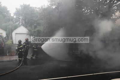 Truck Fire Penninsula Blvd 9/11/14
