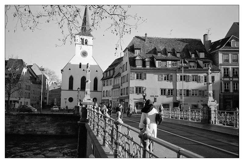 Strasbourg, Rue Saint Etienne vers Saint-Guillaume