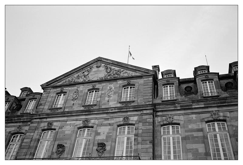 Strasbourg l' Hôtel de Klinglin, aujourd'hui Hôtel Préfectoral
