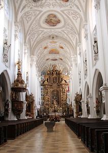 Stadtpfarrkirche Mariae Himmelfahrt, Landsberg am Lech