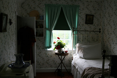 Anne's room, modeled after the book, Anne of Green Gables