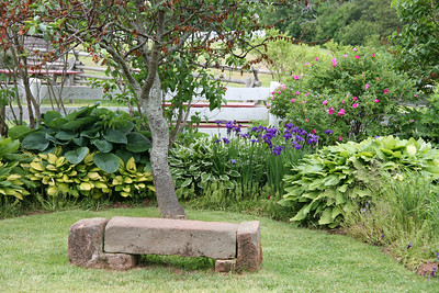 front yard from house of Anne of Green Gables at Cavendish, Prince Edward Island