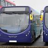 Arriva North East Streetlite Max DF NK67 EDF body no, AQ517 Sapphire livery