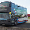 Wrightbus Streetdeck demonstrator SL15 ZGP still wearing Stagecoach Wirral fleet no. 80028