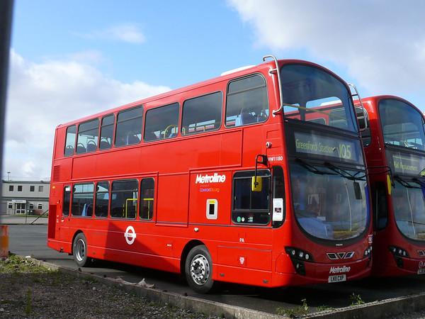 Metroline VW1180 110522 Heysham