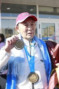 2019 оны дөрөвдүгээр сарын 02.  Польшийн Торун хотноо болсон хөнгөн атлетикийн мастеруудын Дэлхийн аварга шалгаруулах тэмцээнд оролцсон Монгол Улсын баг эх орондоо ирлээ. Уг тэмцээнд Монгол Улсын баг тамирчид амжилттай оролцлоо. Эрэгтэйчүүдийн 400 метрийн зайд 85-аас дээш насныхантай хурдаа сорьсон Ц.Раднаа Япон, Герман, Их Британи, АНУ-ын тамирчдыг ардаа орхин, аваргын алтан медалийг хүртжээ. Цэрэнгийн Раднаа энэ жил 85 настай тамирчин бөгөөд түүний ДАШТ-д түрүүлсэн хугацаа дэлхийн дээд амжилт 1:33 /нэг минут, 33 секунд/ байсныг 1:20 болгон шинэчилсэн байна.  Мөн мастеруудын ДАШТ-ээс манай улсын гурван тамирчин мөнгөн медаль хүртжээ. ГЭРЭЛ ЗУРГИЙГ MPA