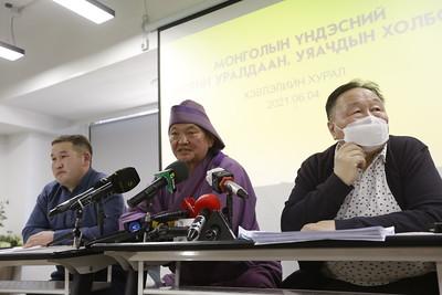 2021 оны зургадугаар сарын 9.Монголын Үндэсний Морин уралдаан уяачдын холбооноос мэдээлэл хийлээ. ГЭРЭЛ ЗУРГИЙГ Г.САНЖААНОРОВ/MPA
