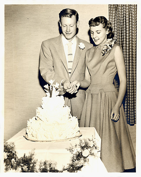 Fritz and Ida, wedding picture