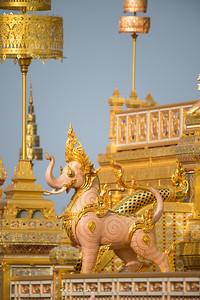 Kajasiha (Mythical Lion-Trunk Nosed), the Royal Crematorium for His Majesty King Bhumibol Adulyadej