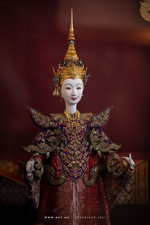 The Battle of the Red Cliff from The Three Kingdoms, Taleng Phai Puppet by Chakrabhand Posayakrit