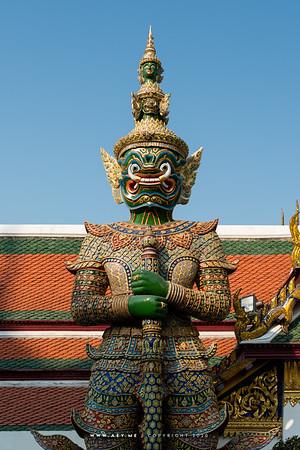 Ravana Demon, Wat Phra Sri Rattana Satsadaram (Wat Phra Kaew), Grand Palace