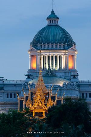 Ananta Samakom Throne Hall & Raun Yod Borom Mangla Nusorani Royal Pavilion, Dusit Palace