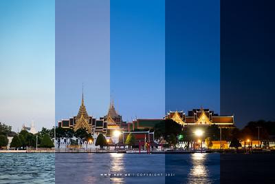Grand Palace and Chao Phraya River