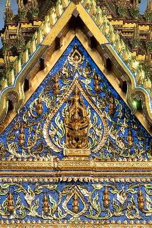 Narayana on Garuda, Siwalai Maha Prasat Throne Hall, Grand Palace