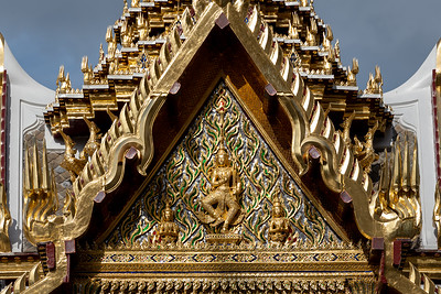 Indra God with Sword, Aphorn Phimok Prasat Pavilion, Grand Palace