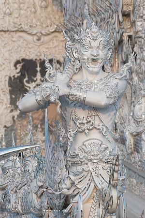 Wat Rong Khun (the White Temple), Chiang Rai