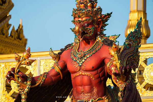 Garuda, the Royal Crematorium for His Majesty King Bhumibol Adulyadej