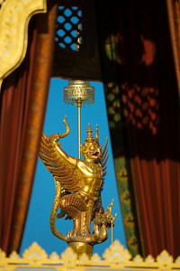Garuda Holding 2 Nagas, the Royal Crematorium for His Majesty King Bhumibol Adulyadej