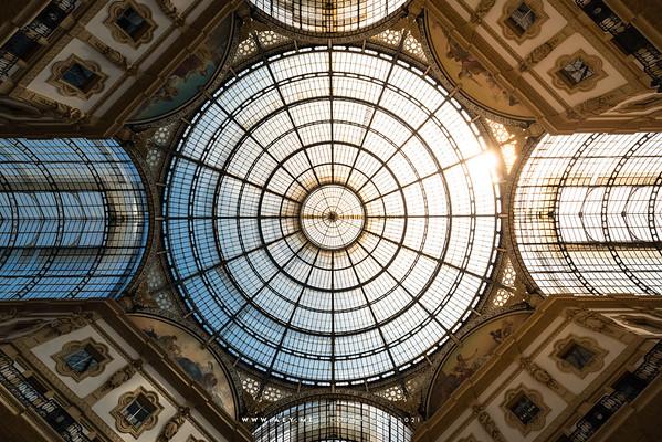 The Galleria Vittorio Emanuele II, Milan
