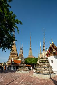 Phra Maha Chedi Si Rajakarn, Wat Pho (Wat Phra Chetuphon)
