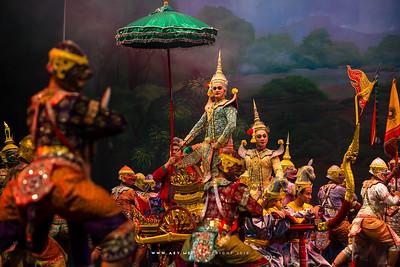 Rama, Khon, Ramayana at The National Theater