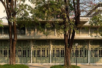 Thewarat Sapharom Throne Hall, Phyathai Palace