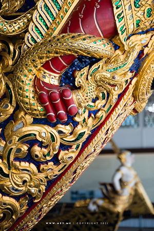 Royal Barge Narai Song Suban - Rama IX, National Museum of Royal Barges, Bangkok
