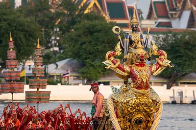Royal Barge Narai Song Suban - H.M. King Rama IX