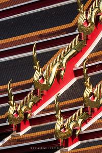 Roof Finials, Wat Pho