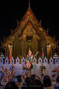 The Fight of Rama and Thotsakan