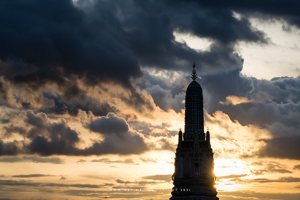 Wat Arun view from Riva Arun