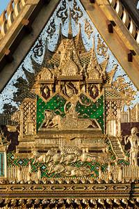 Song Tham Throne Hall, Wat Benchamabophit