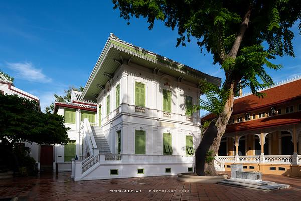 Phra Tamnak Chan & Phra Tamnak Petr, Wat Bowonniwet