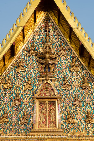 Narayana on Garuda, Wat Chana Songkhram