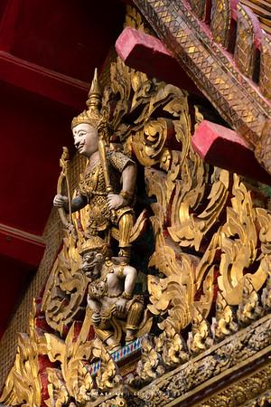 Lakshmana on Hanuman