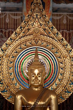 Phra Buddha Norasi Trilokachet, Phra Ubosot, Wat Chana Songkhram