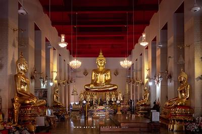 Phra Sri Sakyamuni, Phra Vihara, Wat Mahathat Yuwaratrangsarit