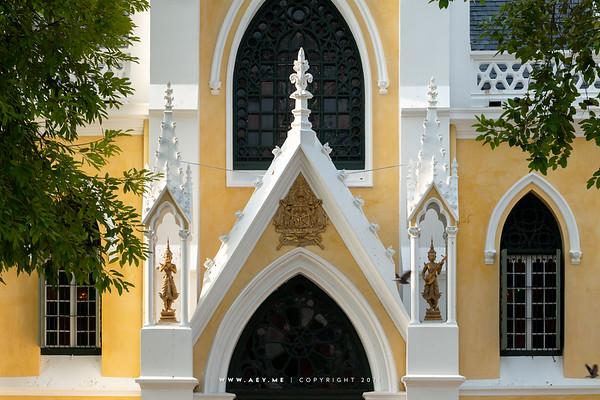 Phra Ubosot, Wat Niwet Thammaprawat, Bang Pa-In, Ayutthaya