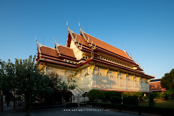Sermon Hall, Wat Rachathiwat