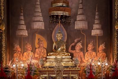 Phra Sam Buddha Panni , Phra Ubosot, Wat Rachathiwat