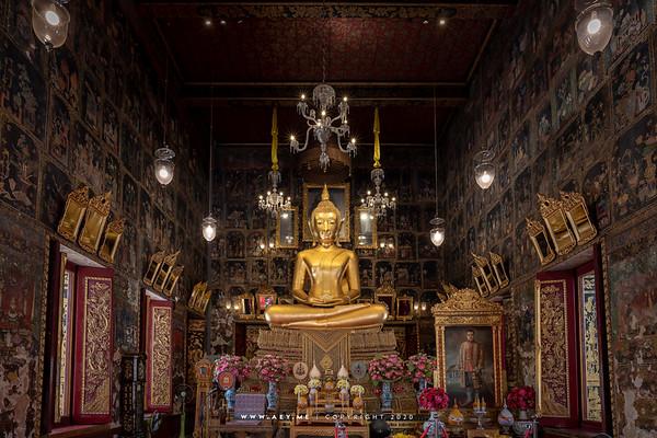 Phra Buddha Anantakhun Adulyan Bophit, Phra Ubosot, Wat Ratcha Orasaram