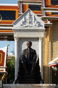 King Rama V Monument, Wat Ratchabophit