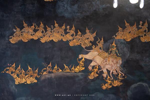 Mural Painting, Wat Ratchapradit