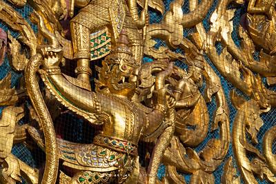 Garuda, Phra Ubosot, Wat Saket