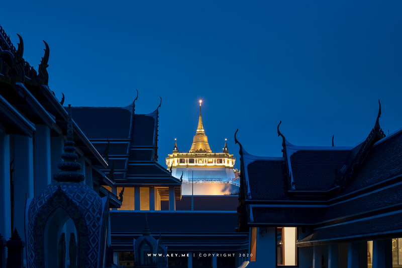 Phukhao Thong, Wat Saket