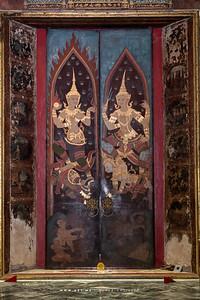 Mural Painting, Phra Ubosot, Wat Suthat Thepwararam