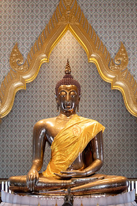 The Golden Buddha, Phra Maha Mondop, Wat Traimit