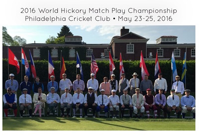 2016 World Hickory Match Play Championship