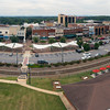 Hickory, NC   Downtown Hickory   Aerial Panoramic 2017
