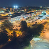 Downtown Hickory   Night Aerial   Long Exposure